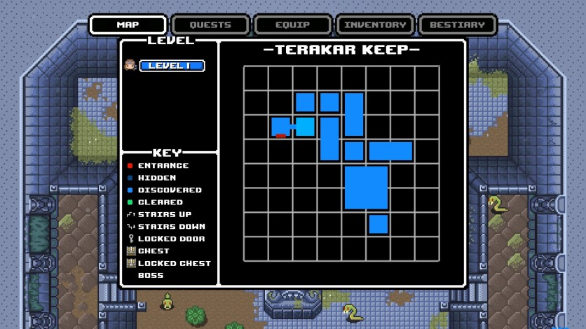 Screenshot 3 - Rogue Heroes: Ruins of Tasos