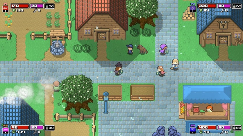 Screenshot 4 - Rogue Heroes: Ruins of Tasos