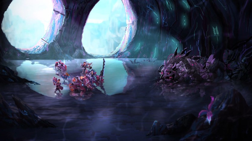 Screenshot 5 - The Art and Illustrations of Star Renegades