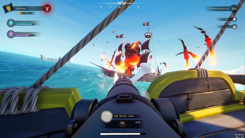 Screenshot 5 - Blazing Sails: Pirate Battle Royale