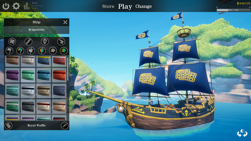 Screenshot 3 - Blazing Sails: Pirate Battle Royale