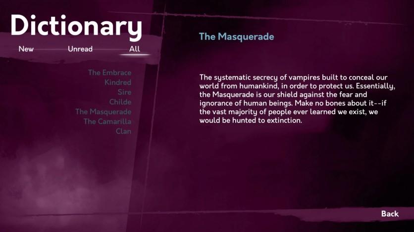 Screenshot 8 - Vampire: The Masquerade - Shadows of New York
