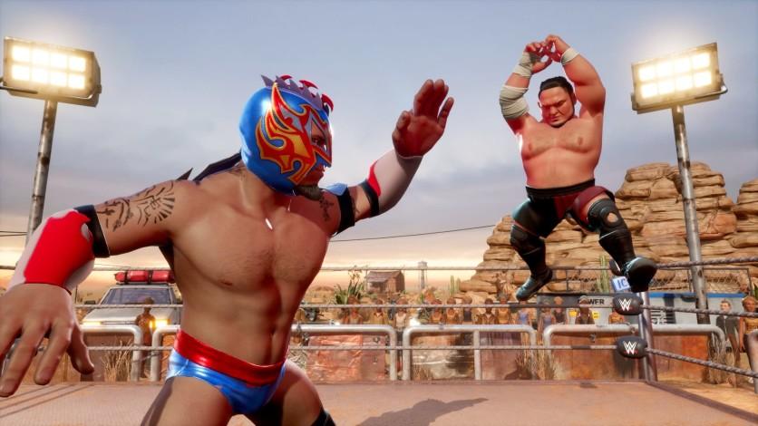Screenshot 2 - WWE 2K Battlegrounds