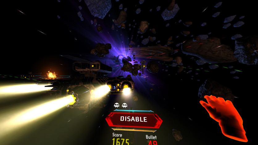 Screenshot 3 - Darkness Rollercoaster - Ultimate Shooter Edition