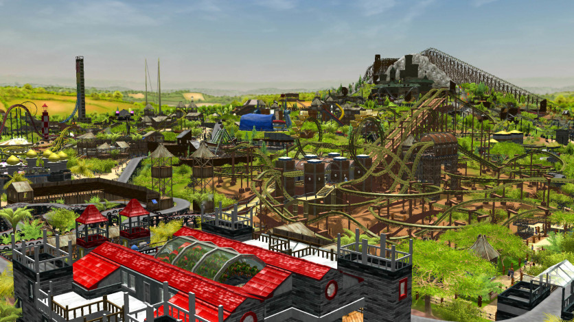 Screenshot 3 - RollerCoaster Tycoon 3: Complete Edition