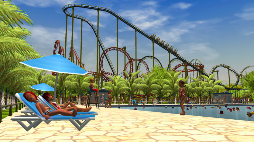 Screenshot 2 - RollerCoaster Tycoon 3: Complete Edition