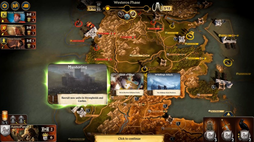 Screenshot 4 - A Game of Thrones: The Board Game - Digital Edition