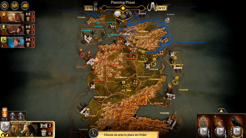 Screenshot 7 - A Game of Thrones: The Board Game - Digital Edition