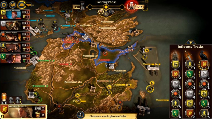 Screenshot 6 - A Game of Thrones: The Board Game - Digital Edition