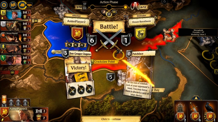 Screenshot 5 - A Game of Thrones: The Board Game - Digital Edition