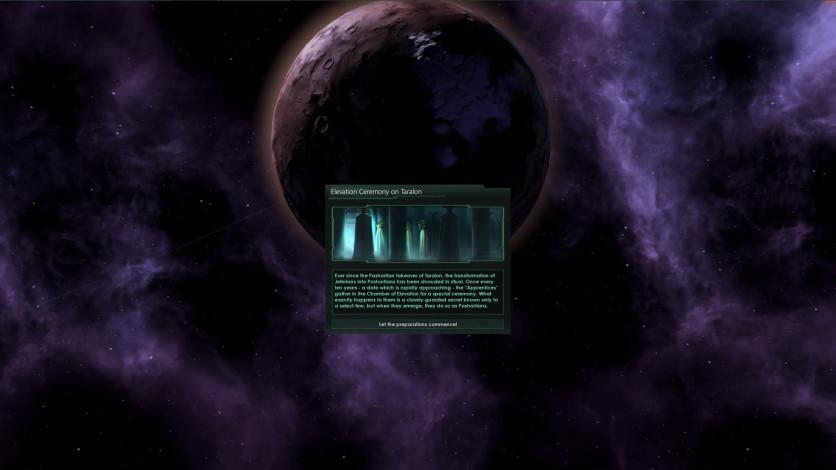 Screenshot 3 - Stellaris: Necroids Species Pack