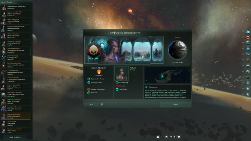 Screenshot 2 - Stellaris: Necroids Species Pack