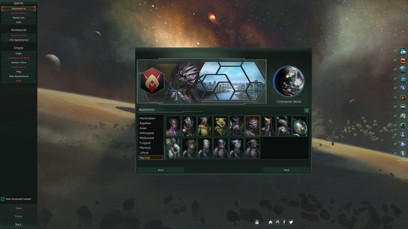 Screenshot 4 - Stellaris: Necroids Species Pack