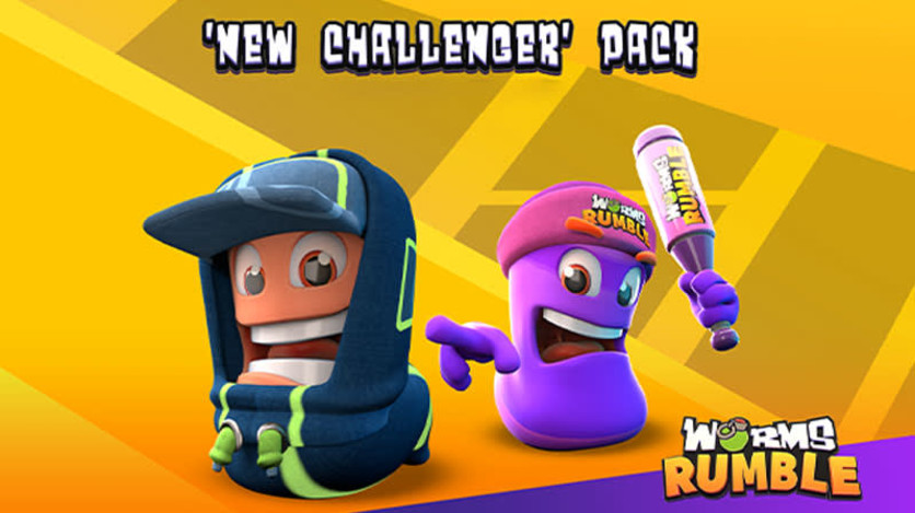 Screenshot 1 - Worms Rumble - New Challengers Pack