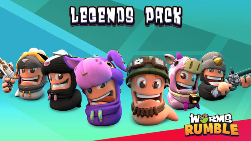 Screenshot 1 - Worms Rumble - Legends Pack