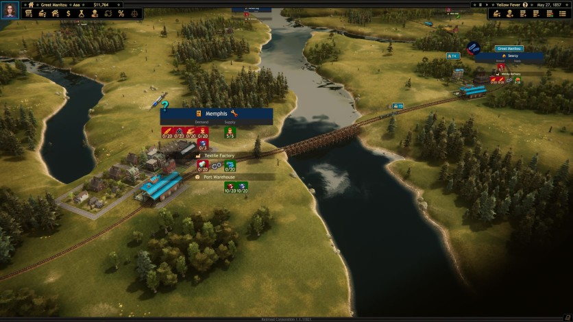 Screenshot 4 - Railroad Corporation - Yellow Fever DLC