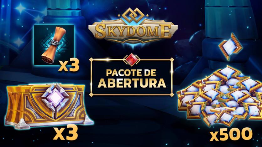 Screenshot 1 - Skydome - Pacote de Abertura