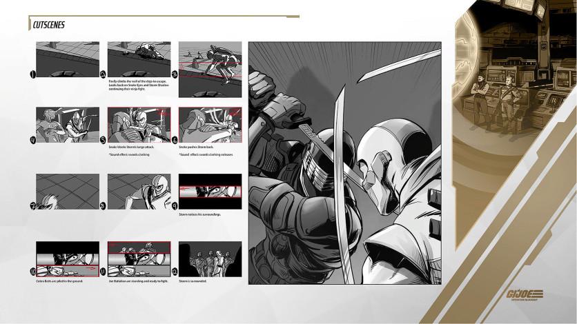 Screenshot 4 - G.I. Joe: Operation Blackout - Digital Art Book and Soundtrack