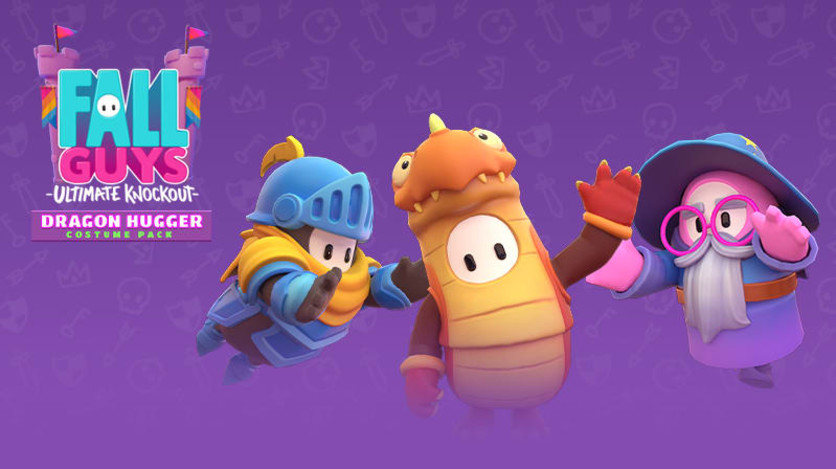 Screenshot 1 - Fall Guys - Dragon Hugger Pack
