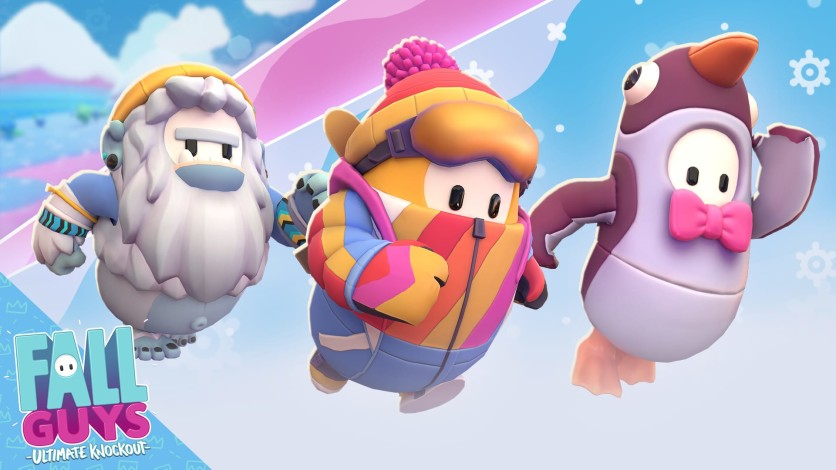 Screenshot 1 - Fall Guys - Icy Adventure Pack