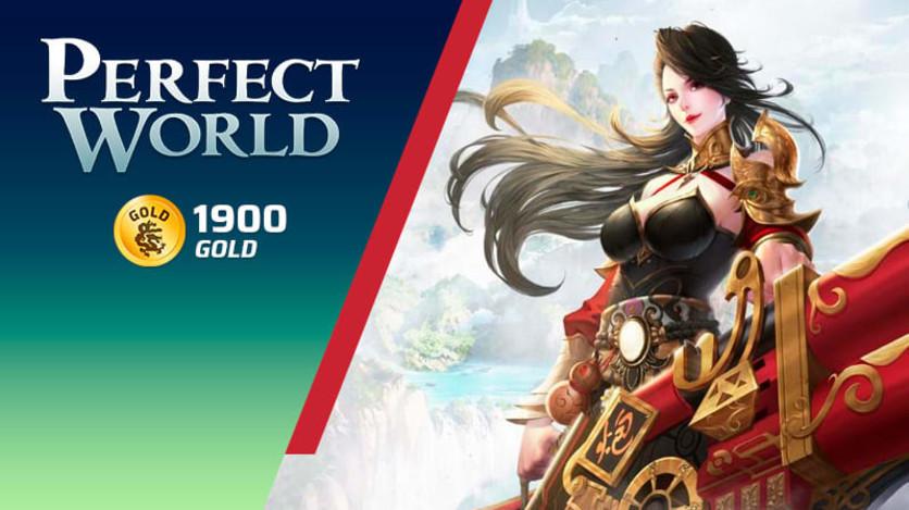 Screenshot 1 - Perfect World - Pacote de 1900 Gold