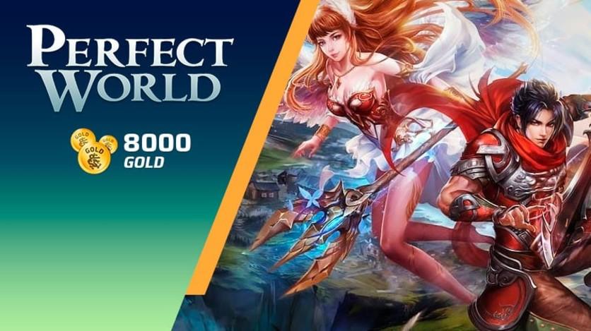 Screenshot 1 - Perfect World - Pacote de 8000 Gold