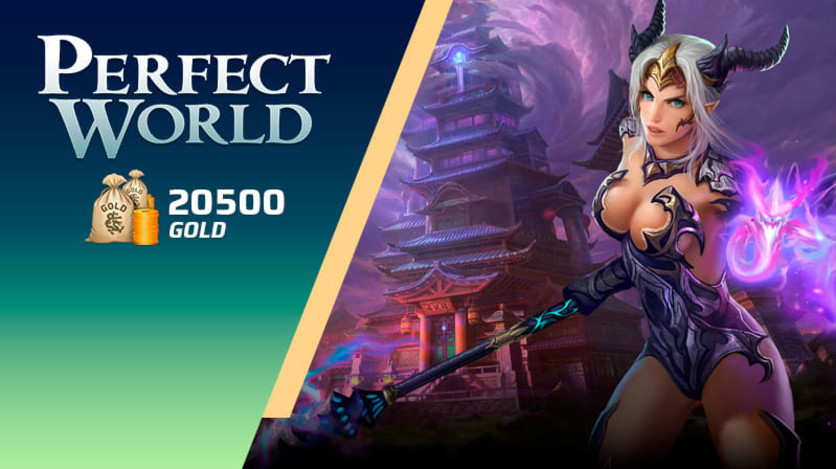 Screenshot 1 - Perfect World - Pacote de 20500 Gold