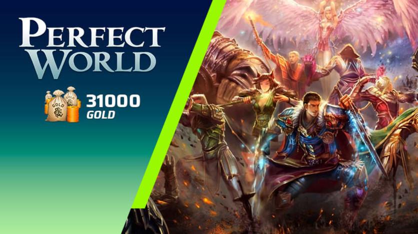 Screenshot 1 - Perfect World - Pacote de 31000 Gold