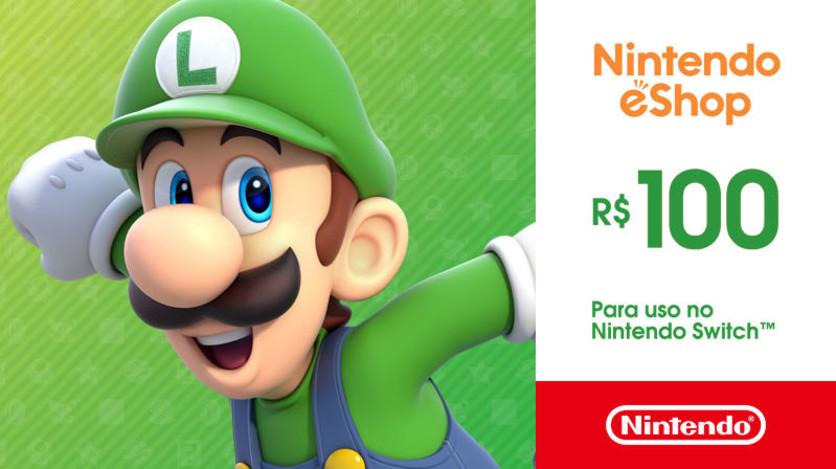 Screenshot 1 - Nintendo - Gift Card Digital 100 Reais™