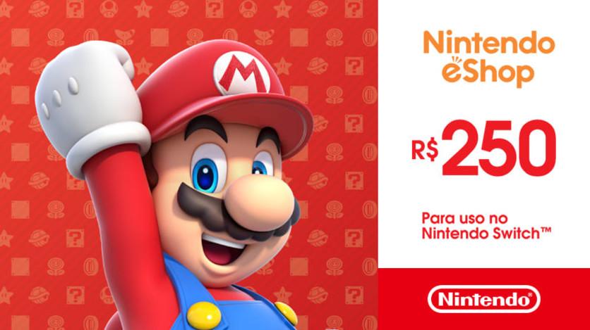 Screenshot 1 - Nintendo - Gift Card Digital 250 Reais™