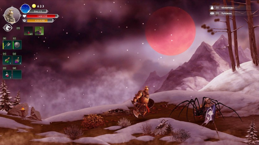 Screenshot 4 - Niffelheim Bloody Moon DLC