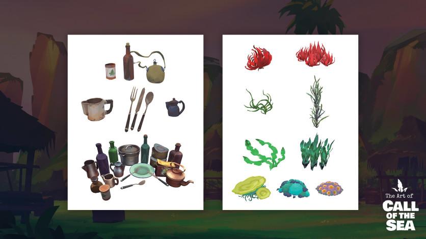 Screenshot 6 - Call of the Sea Art Book