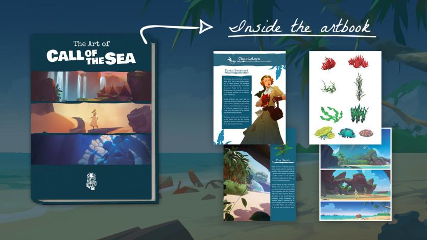 Screenshot 2 - Call of the Sea Art Book