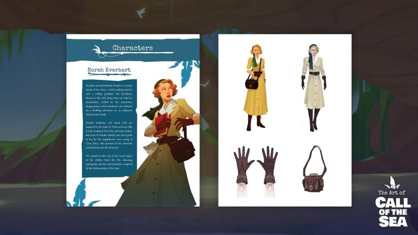 Screenshot 4 - Call of the Sea Art Book