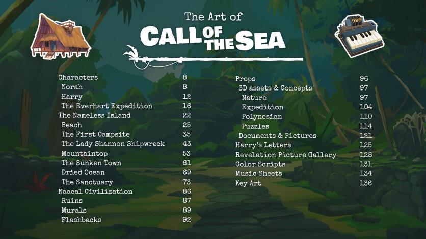 Screenshot 3 - Call of the Sea Art Book