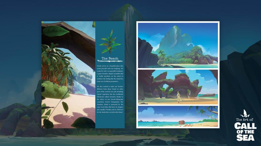 Screenshot 5 - Call of the Sea Art Book