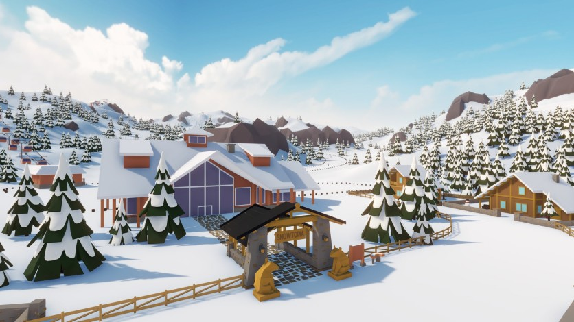 Screenshot 9 - Snowtopia: Ski Resort Tycoon