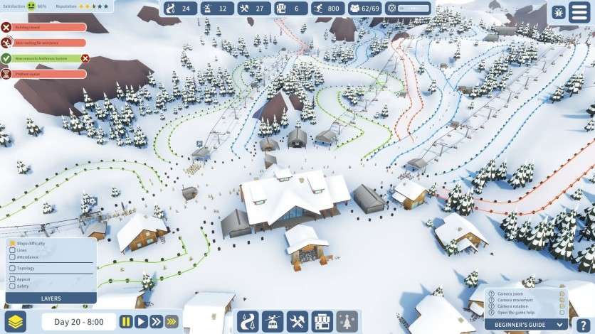 Screenshot 2 - Snowtopia: Ski Resort Tycoon