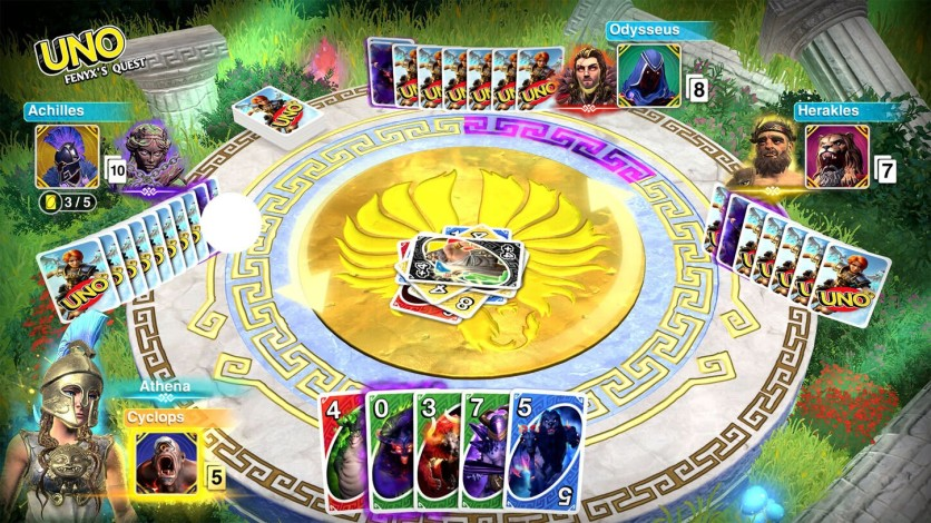 Screenshot 4 - UNO – Fenyx Quest Themed Cards
