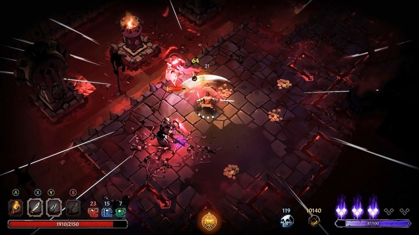 Screenshot 4 - Curse of the Dead Gods