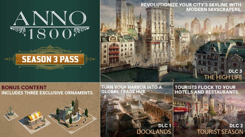 Screenshot 1 - Anno 1800 Season 3 Pass