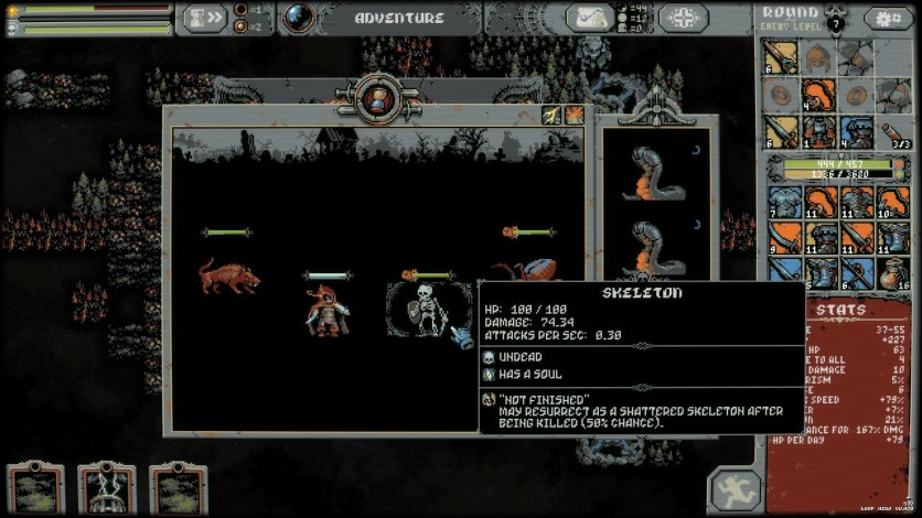 Screenshot 4 - Loop Hero
