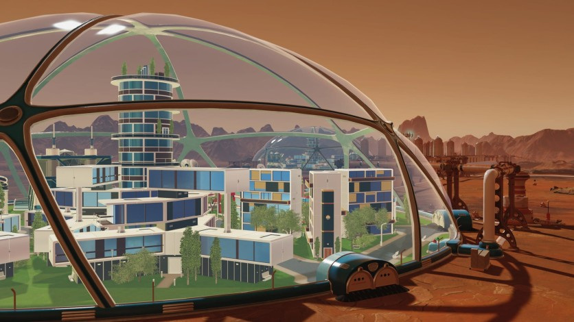 Screenshot 3 - Surviving Mars: In-Dome Buildings Pack