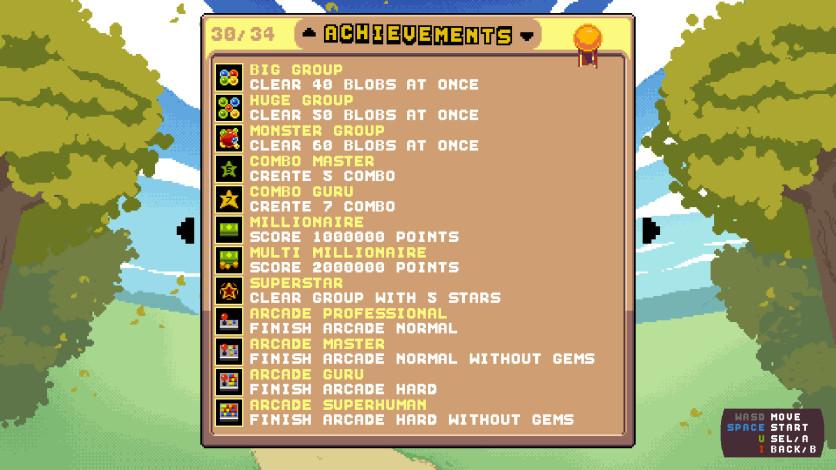 Screenshot 7 - Raining Blobs