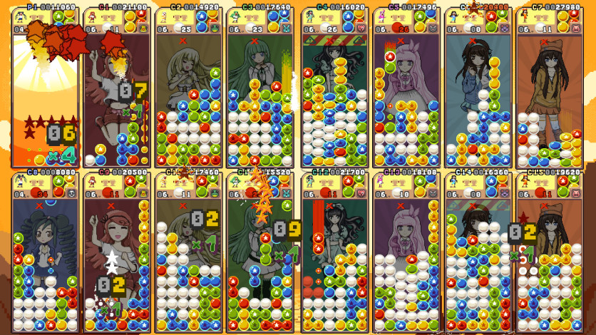 Screenshot 11 - Raining Blobs