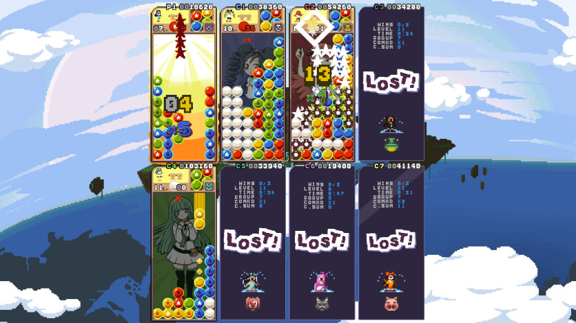 Screenshot 5 - Raining Blobs