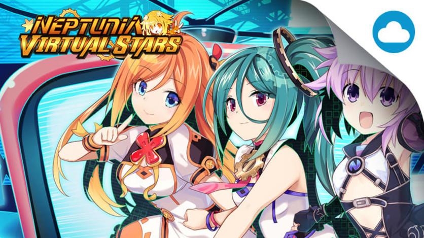 Screenshot 1 - Neptunia Virtual Stars