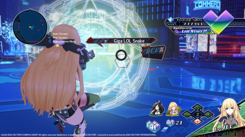 Screenshot 6 - Neptunia Virtual Stars