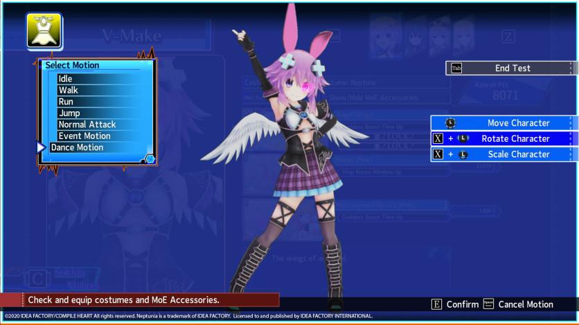 Screenshot 9 - Neptunia Virtual Stars