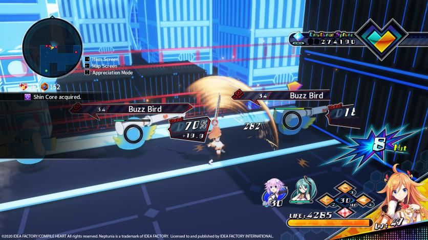 Screenshot 5 - Neptunia Virtual Stars